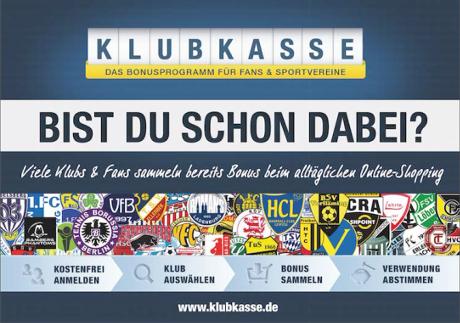 KLUBKASSE - Bist du schon dabei? - www.klubkasse.de