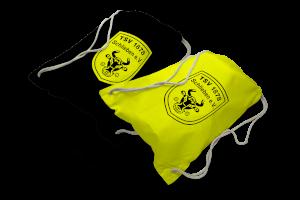 Turnbeutel (schwarz & gelb)